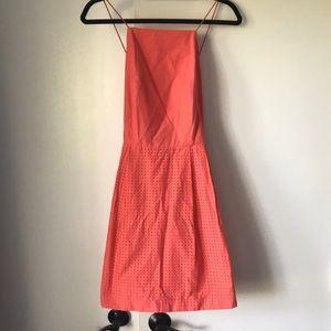 Kate spade salmon colored dress